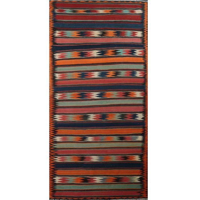 6x15 Old Persian Kilim Rug - 110730