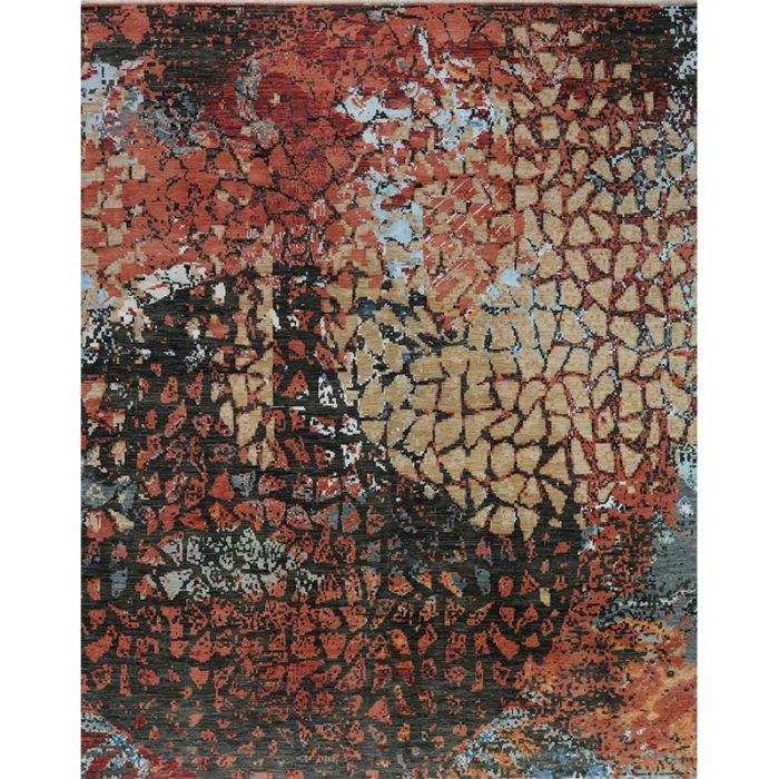 Modern Abstract Area Rug 12.2x15.0 - A501094
