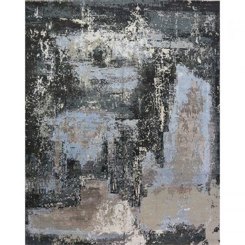 Modern Abstract Area Rug 12.1x15.3 - A501146