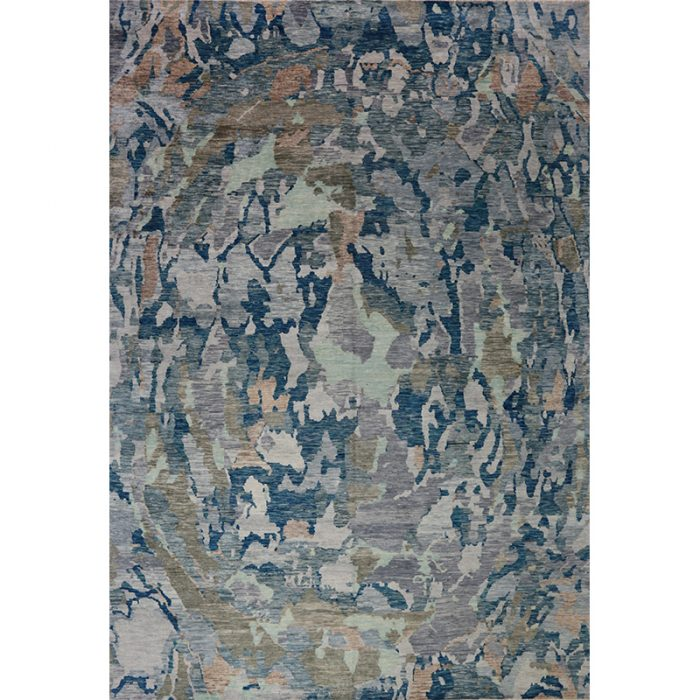 Modern Abstract Area Rug 11.10x17.3 - A501034