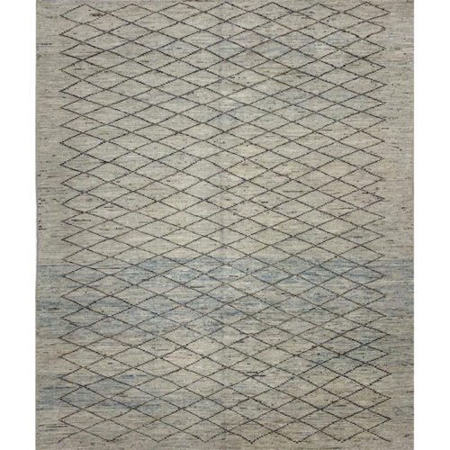 Modern Turkish Tribal Area Rug 8.3x9.7 - A110894