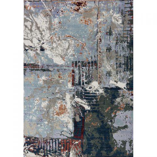 """10'2"""" x 14'3"""" Modern Abstract Rug - 501152"""