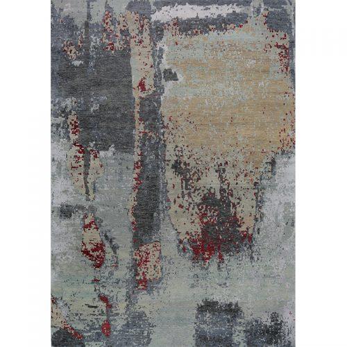 """10'2"""" x 14'4"""" Modern Abstract Rug - 501141"""