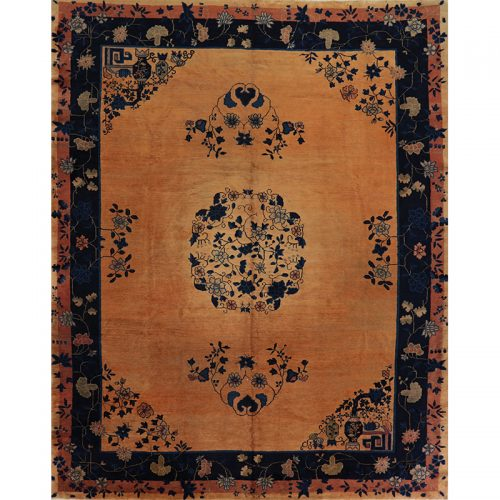 Antique Peking Area Rug 9.1x11.4 - B104878