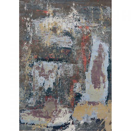 """10'1"""" x 14'1"""" Modern Abstract Rug - 501020"""