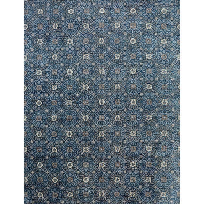 10x14 Blue Oushak Are Rug - 501072