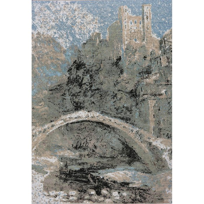 Impressionist Style Area Rug 10.0x14.1 - A501077