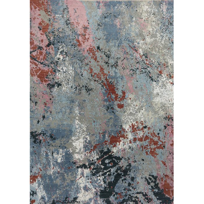 A501145 - 10x14 Modern Abstract Area Rug