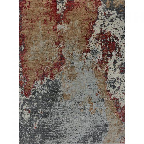 """9'0"""" x 12'2"""" Modern Abstract Rug - 501082"""