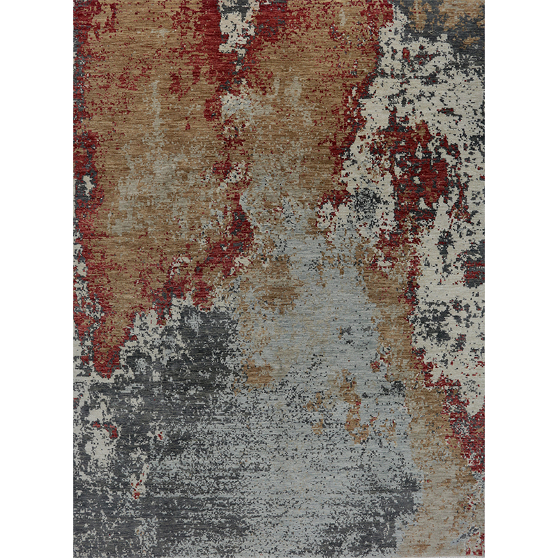 Modern Abstract Area Rug 9.0x12.2 - A501082