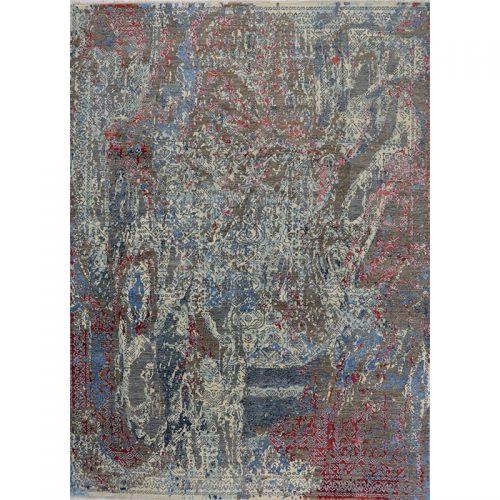 """9'1"""" x 12'4"""" Modern Abstract Rug - 501088"""
