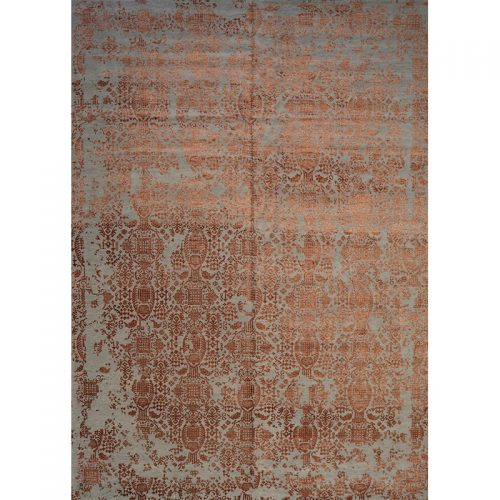 Traditional Handwoven Indo Ikat Area Rug