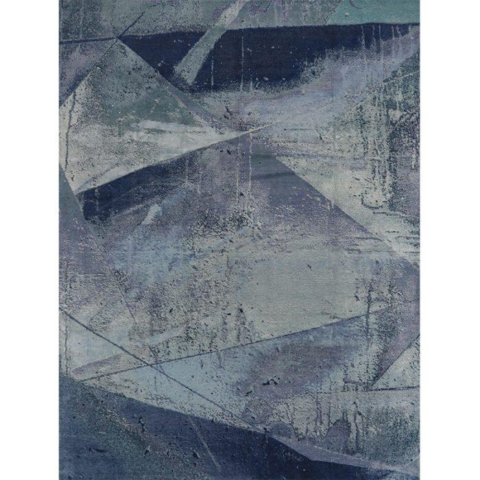 A501187 - Modern Abstract Area Rug 9.1x12.2