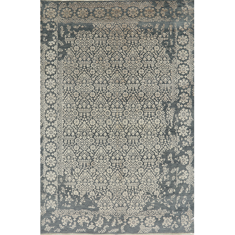 """5'1"""" x 7'8"""" Transitional Area Rug - 501126"""