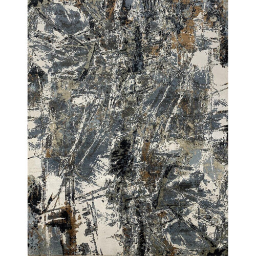 Modern Abstract Area Rug 8.1x10.1 - A501148