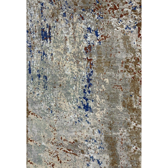 Modern Abstract Area Rug 4.1x6.1 - A501116