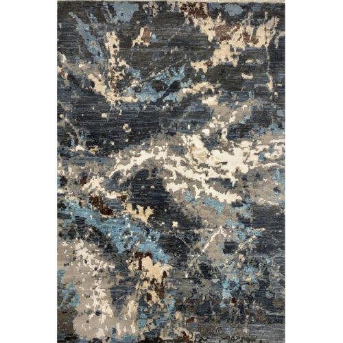 Modern Abstract Area Rug 4.2x6.2 - A501119
