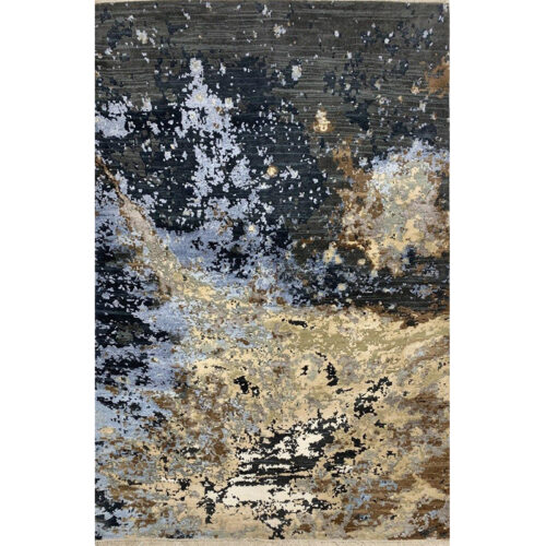 Modern Abstract Area Rug 4.0x6.1 - A501120
