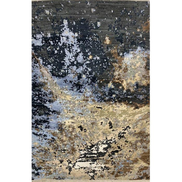 Modern Abstract Area Rug 4.0x6.1 - A501120
