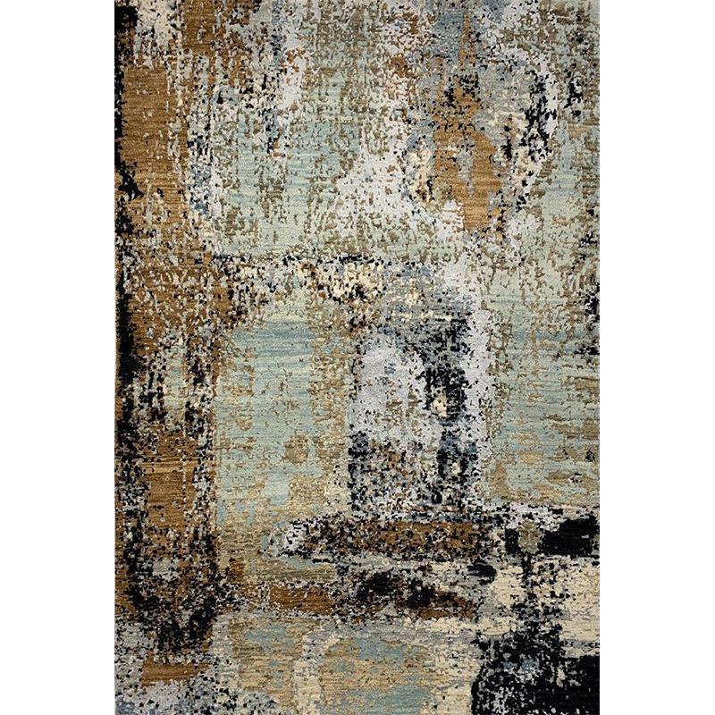 Modern Abstract Area Rug 4.2x6.2 - A501168