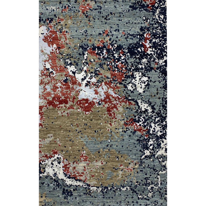 Modern Abstract Area Rug 4.0x6.4 - A501172
