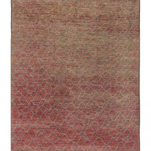 A modern tribal rug