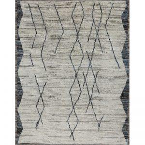 Modern tribal rug