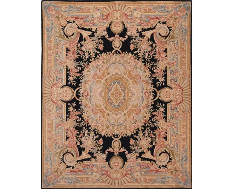 French Savonnerie and Aubusson Style Rugs