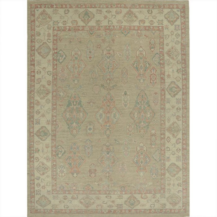 A110997 – Turkish Oushak Area Rug 9.5×12.5