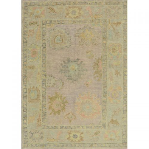 Turkish Oushak Area Rug 4.2x5.10 - A110998