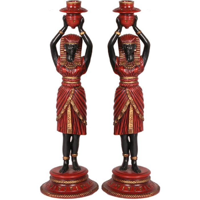Ceramic Candle Holders - RenID 1114