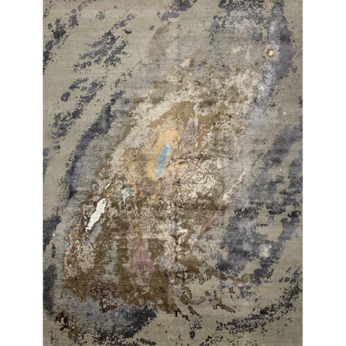 Modern Abstract Area Rug 9.2x12.1 - A501302