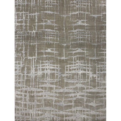 Modern Abstract Area Rug 9.1x12.1 - A501310