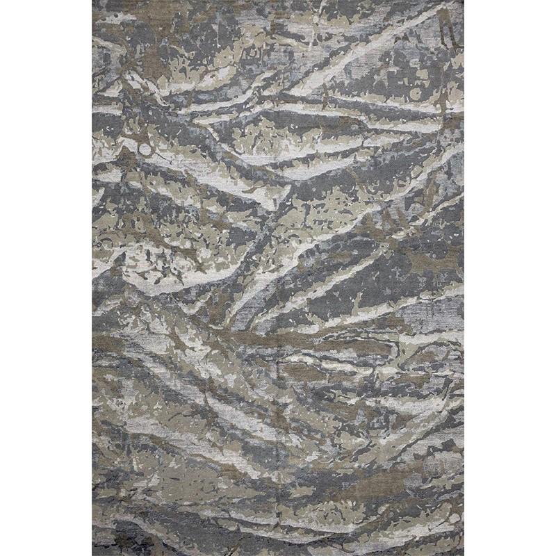 """9'10"""" x 14'3"""" Modern Abstract Rug - 501307"""