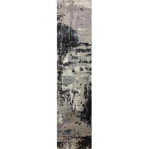 """2'6"""" x 10'3"""" Modern Abstract Runner - 501395"""