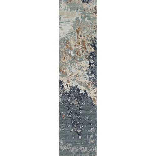 Modern Abstract Area Rug 2.7x10.1 - A501399