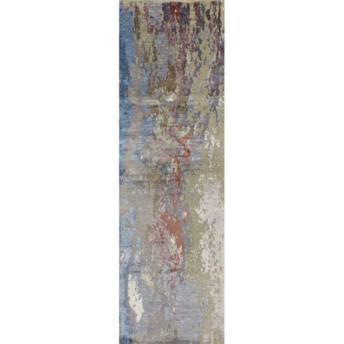 """2'6"""" x 7'10"""" Modern Abstract Runner - 501401"""