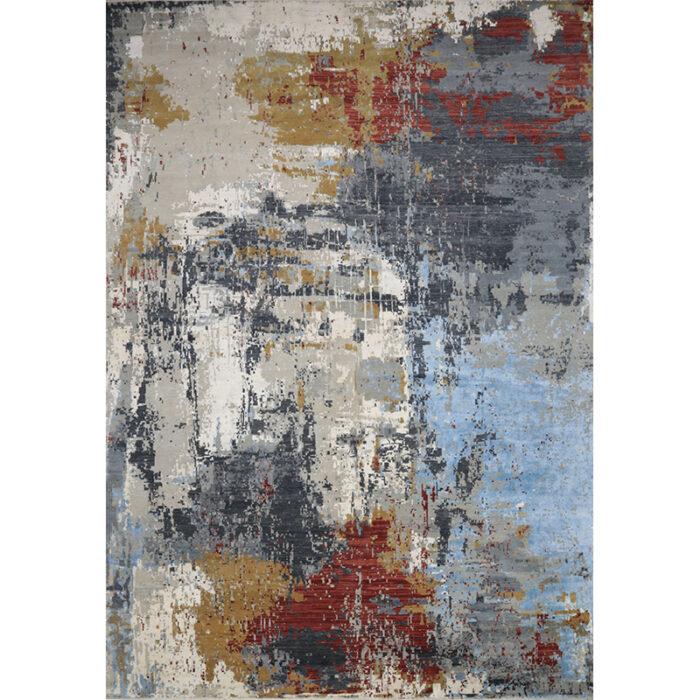 Modern Abstract Area Rug 14.1x20.1 - A501421