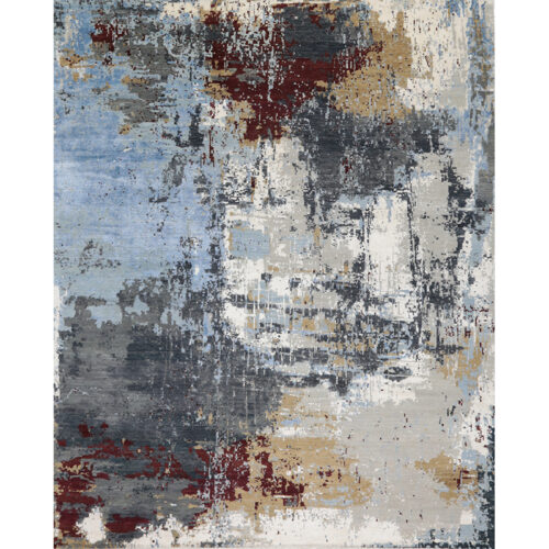 Modern Abstract Area Rug 12.1x15.2 - A501422