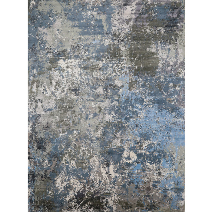 Modern Abstract Area Rug 14.1x20.4 - A501423