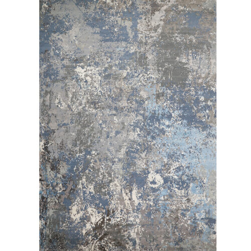 Modern Abstract Area Rug 14.1x20.4 - A501424