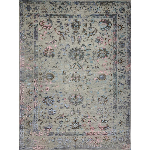 """10'2"""" x 13'7"""" Transitional Style Rug - 501341"""