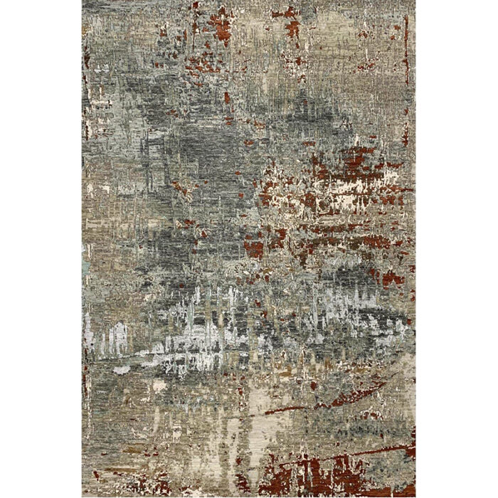 6x9 Modern Abstract Area Rug - 501476
