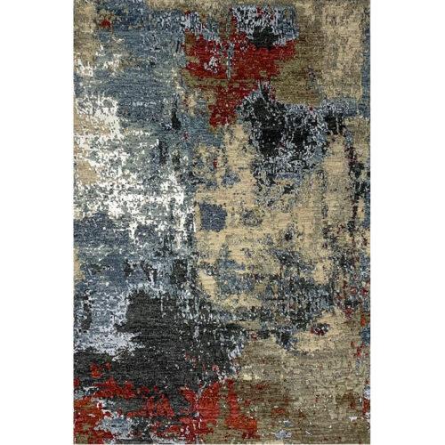 4x6 Modern Abstract Area Rug - 501472