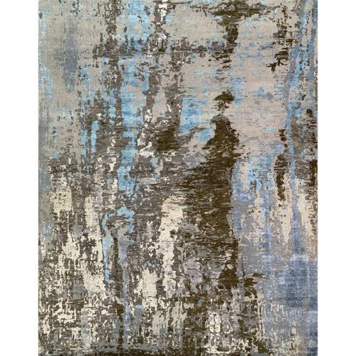 12x15 Modern Abstract Area Rug - 501495