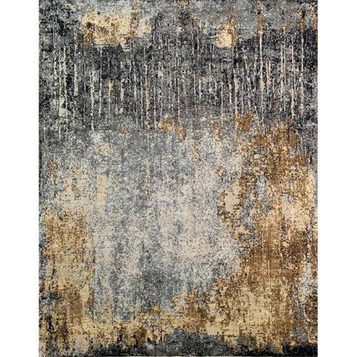 12x15 Modern Abstract Area Rug - 501498