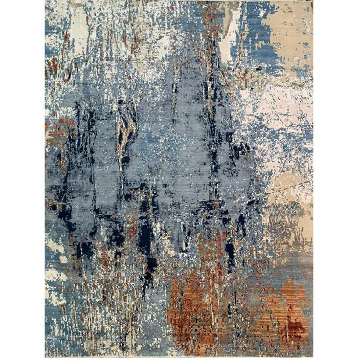 12x15 Modern Abstract Rug A501499