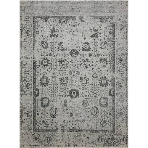 9'0x12'0 Gray Transitional Area Rug - 501446