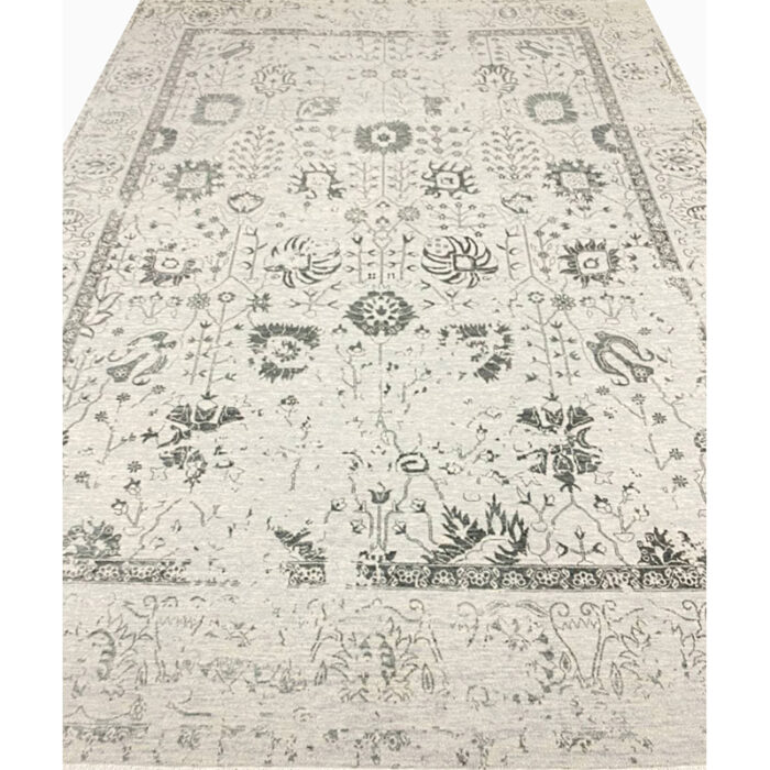 9'0x12'0 Gray Transitional Area Rug - 501446c