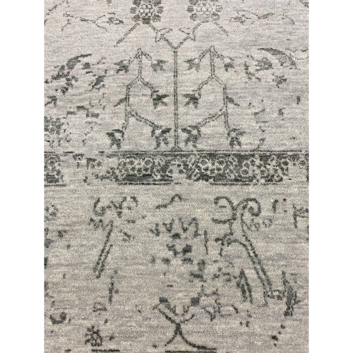 9'0x12'0 Gray Transitional Area Rug - 501446d